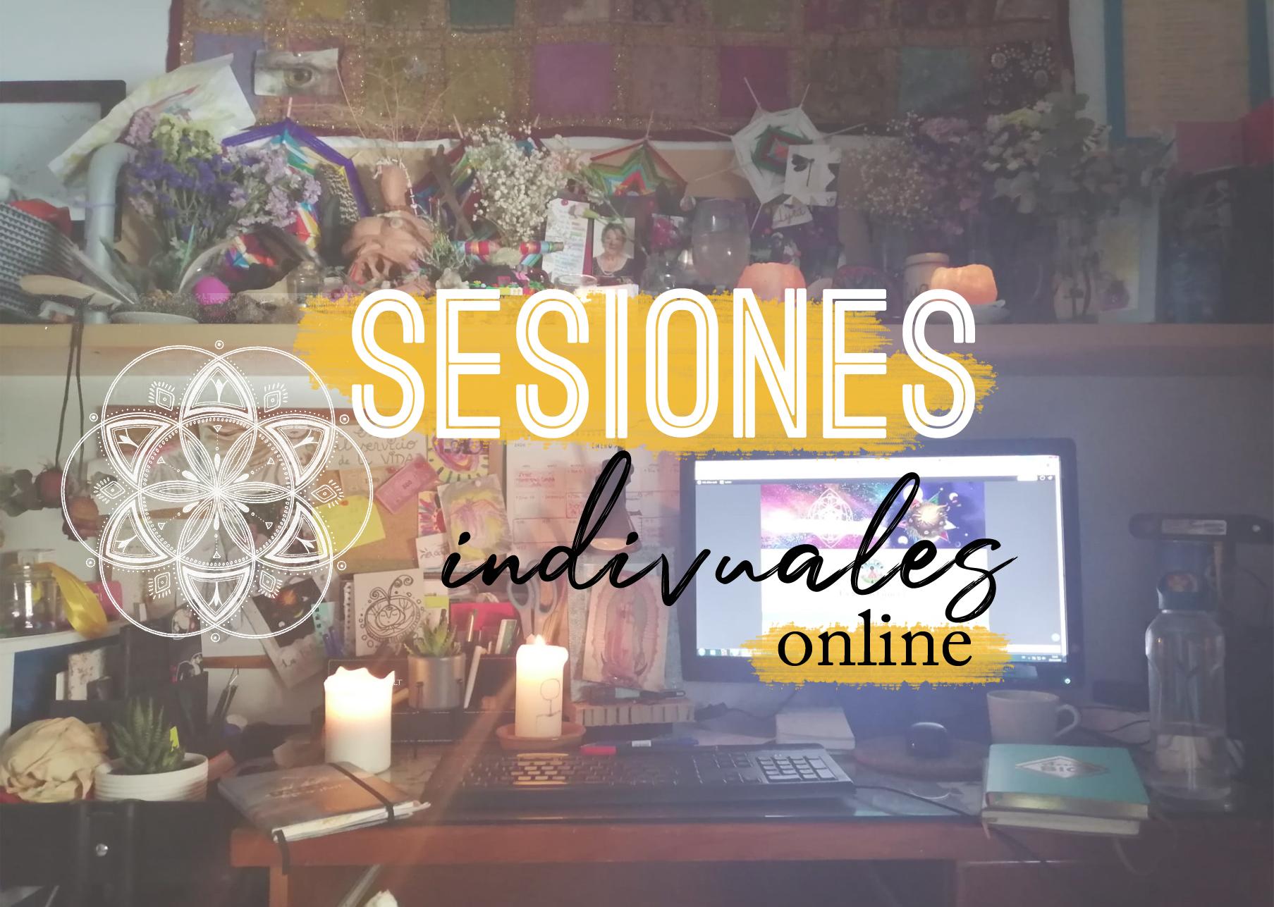sesiones online individuales AGENDA